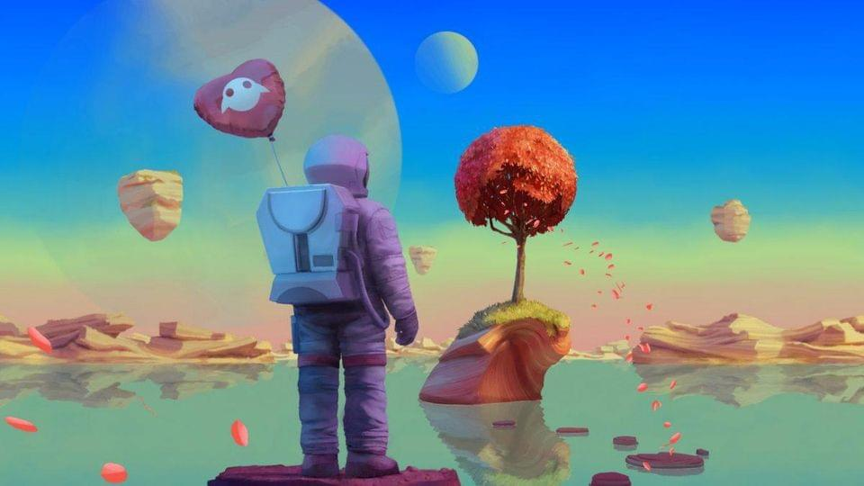 For several years this psychedelic image was the only thing on Magic Leap's home page.