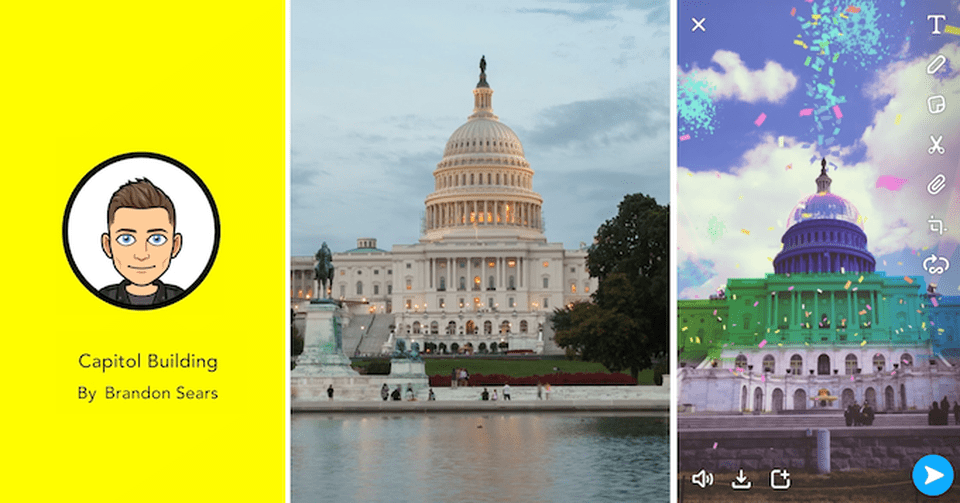 Snap Landmarks are among the most exciting new AR features unveiled by the company at their first partners conference, April 4, 2019. SNAP