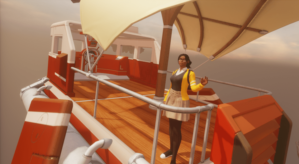 Next stop, the Metaverse. You can teleport, but there are other fun ways to get around.