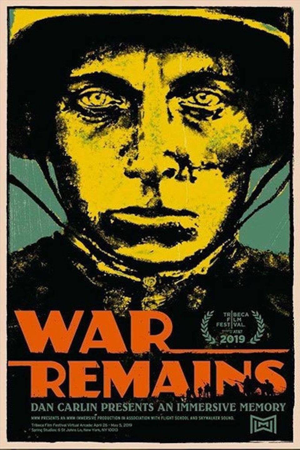 """War Remains"" takes you as close to the trenches of WWI as we will ever get. WAR REMAINS"