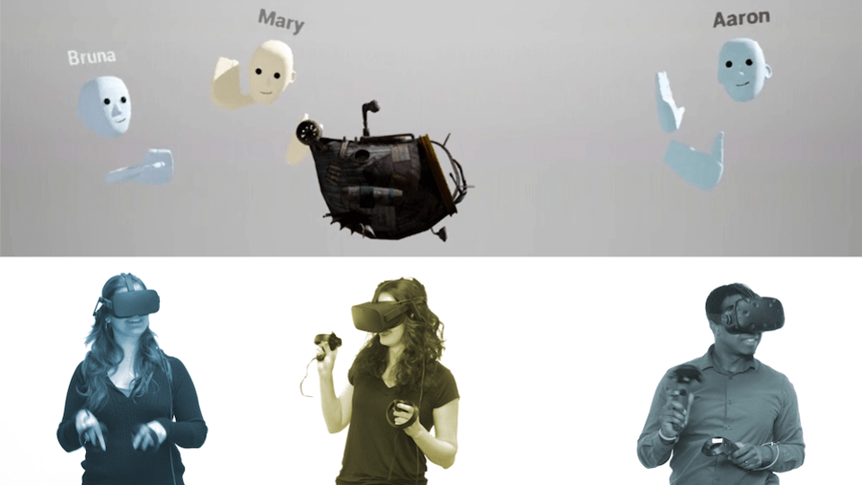 Penrose created a tool artists can use to collaborate inside VR called Maestro.