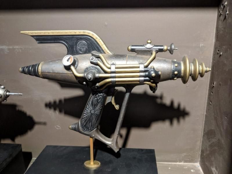 Abovitz keeps this model of Dr. G's raygun in his office.