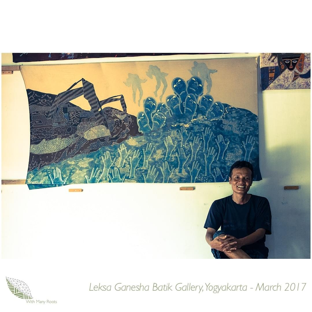 Leksa Ganesha Batik Gallery 1 Copyright With Many Roots