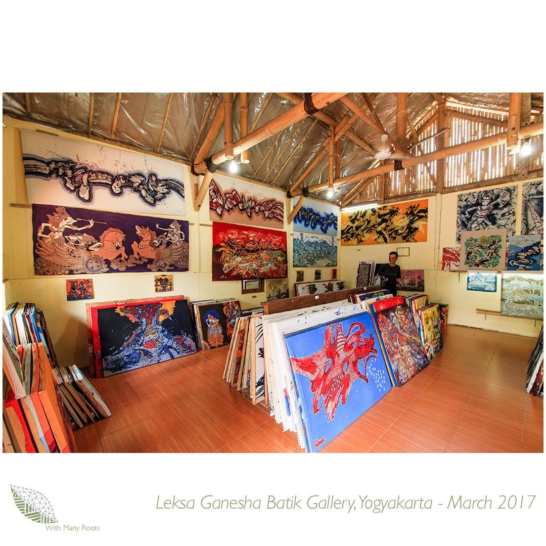 Leksa Ganesha Batik Gallery 3 Copyright With Many Roots