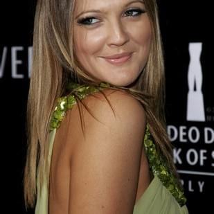 Drew Barrymore after breast reduction surgery