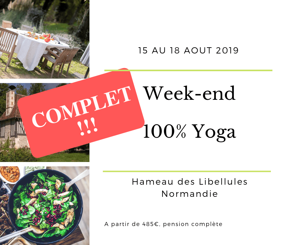 Week-end Yoga 15 aout