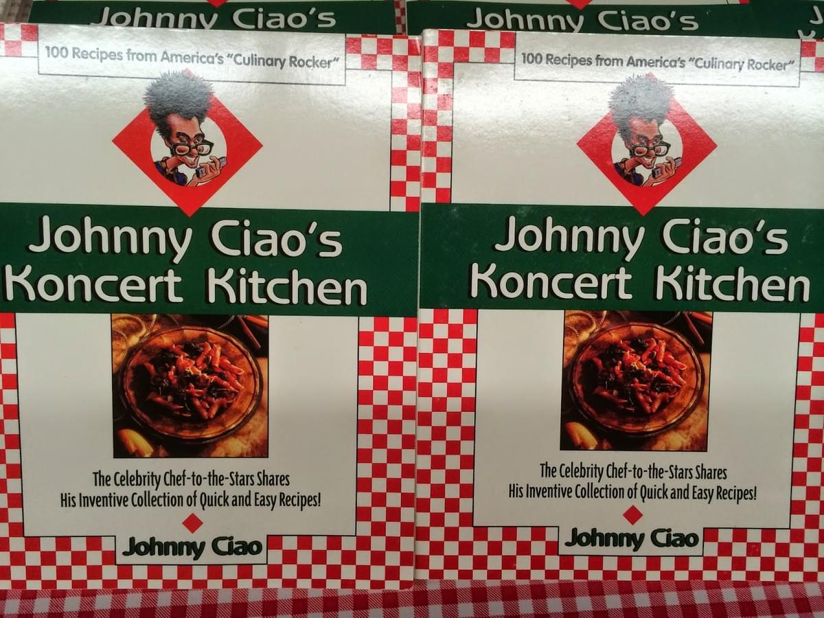 Celebrity Chef Johnny Ciao The Culinary Rocker
