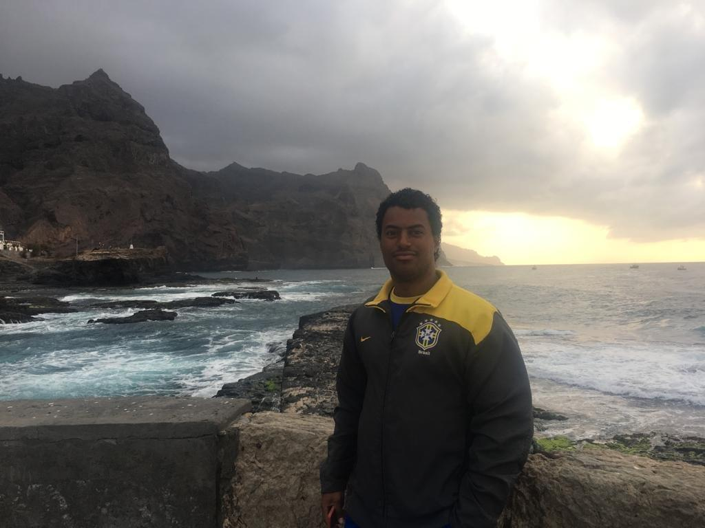 Enjoying the sunset in Ponta do Sol
