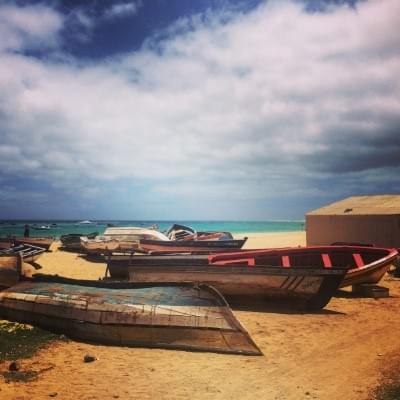 Santa Maria, one of Cape Verde's most beautiful beaches