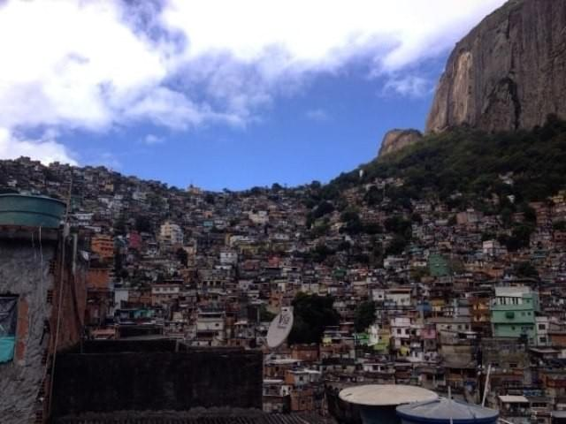 Rocinha is one of South America's largest favela's