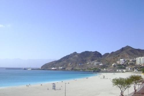 Mindelo's city beach, Laginha
