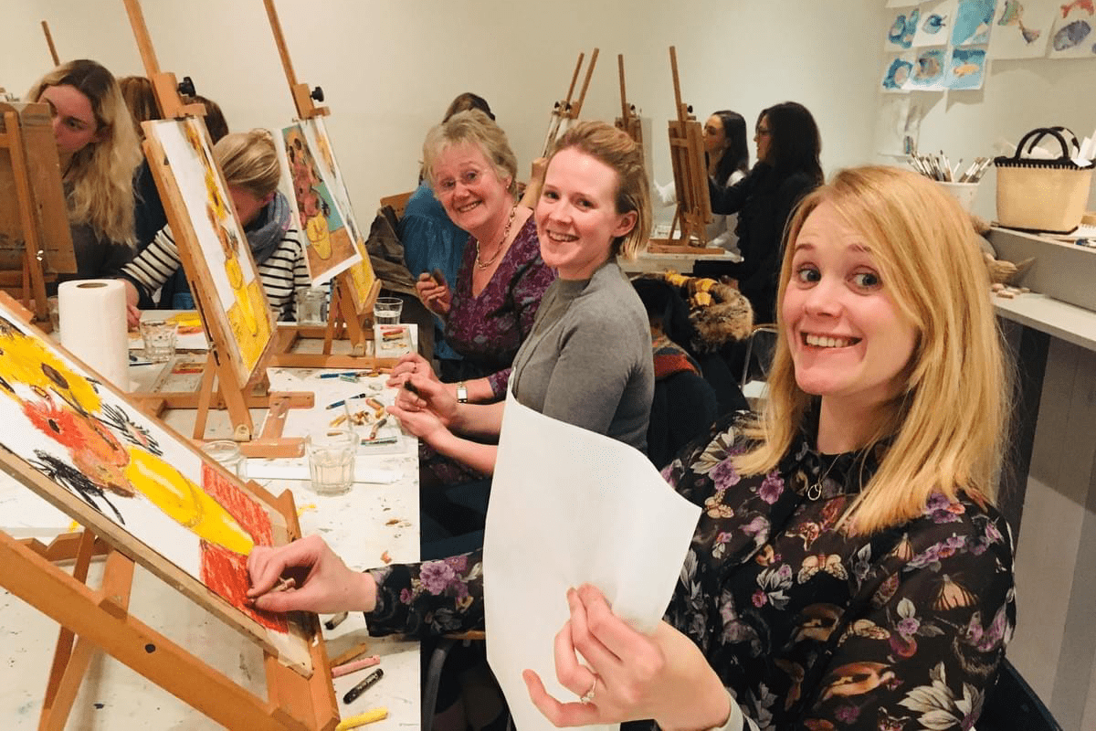 Paint & Wine Events