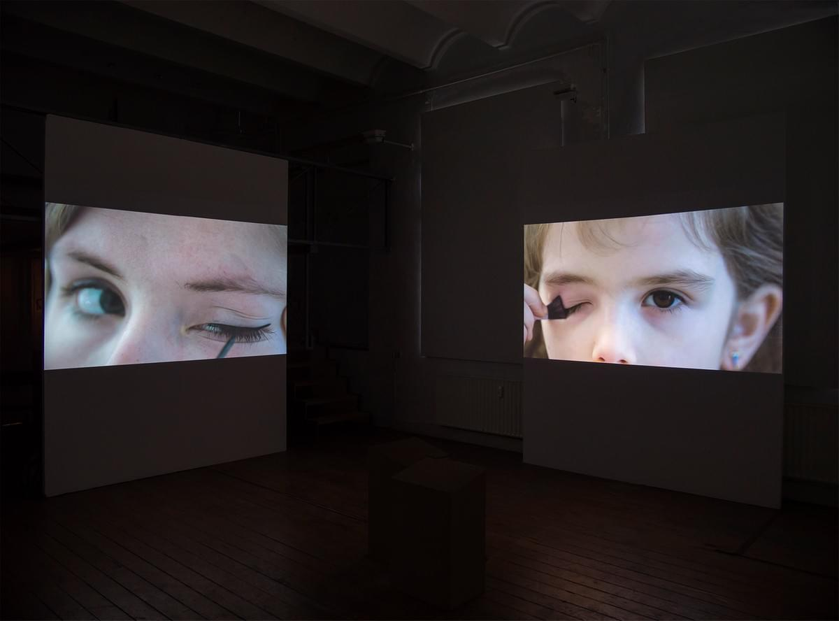 Harm van den Berg - video installation - Composition in Color (2014)