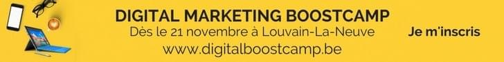 Digital Marketing Boostcamp Banniere