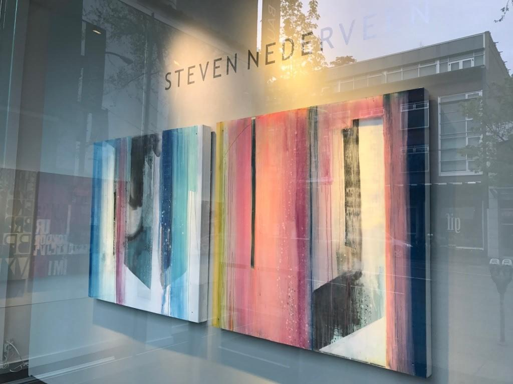 "steven nederveen, bau-xi gallery vancouver, ""Polar Twilight"" and ""Open Waters"""