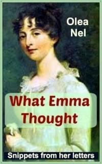 Booklet cover: What Emma Thought: Snippets from her letters