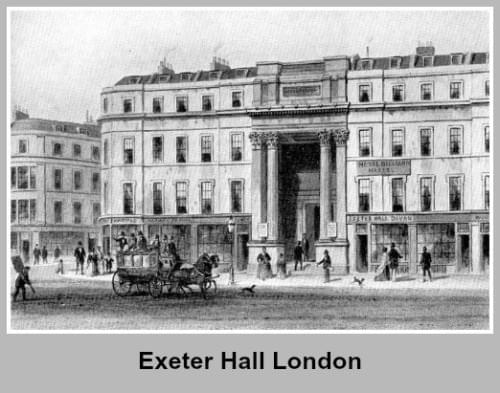 Exeter Hall London