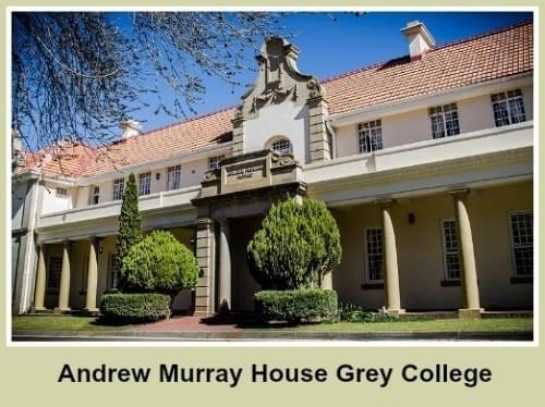 Andrew Murray House, Grey College, 2015