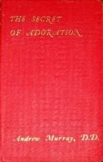 Andrew Murray's copy of The Secret of Adoration