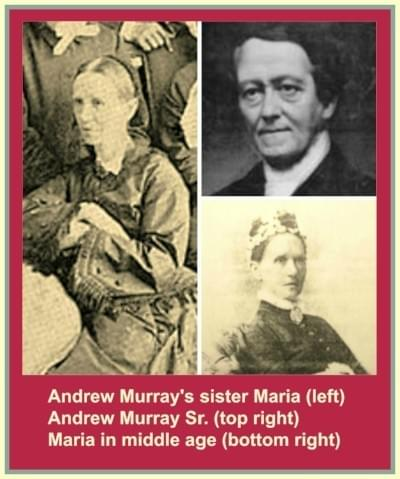 Maria Murray; Andrew Murray Sr.