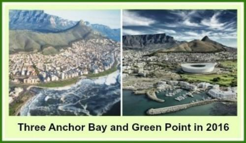 Three Anchor Bay and Green Point in 2016
