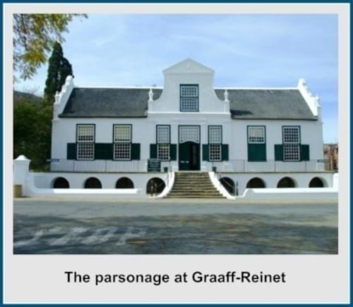 The parsonage in Graaff-Reinet