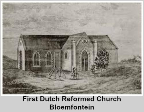 First Dutch Reformed Church in Bloemfontein