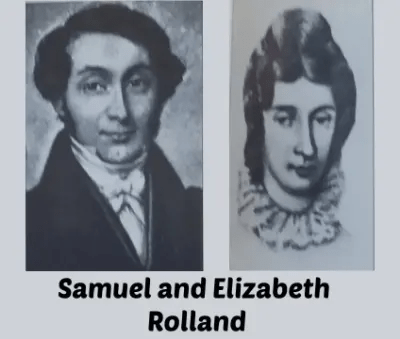 Samuel and Elizabeth Rolland