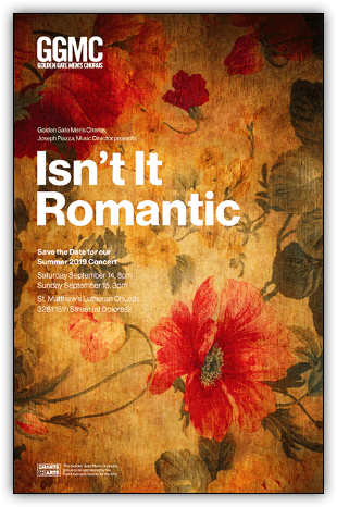 Concert Graphic for Isn't It Romantic