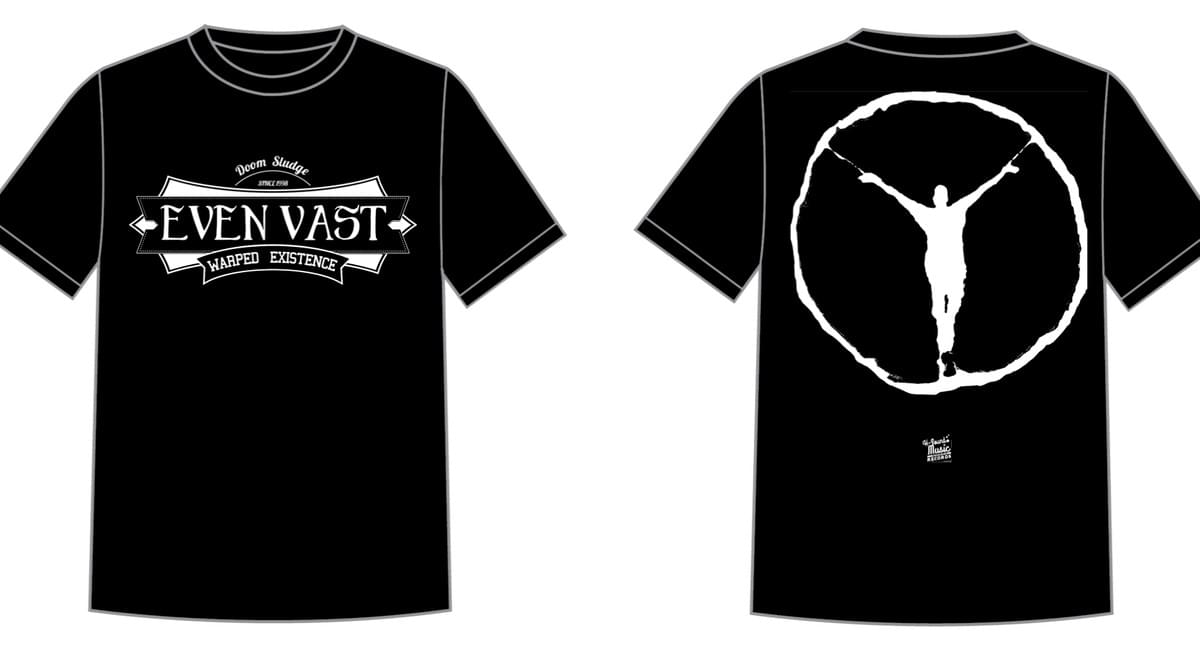 "official t-shirt ""WARPED EXISTENCE"""