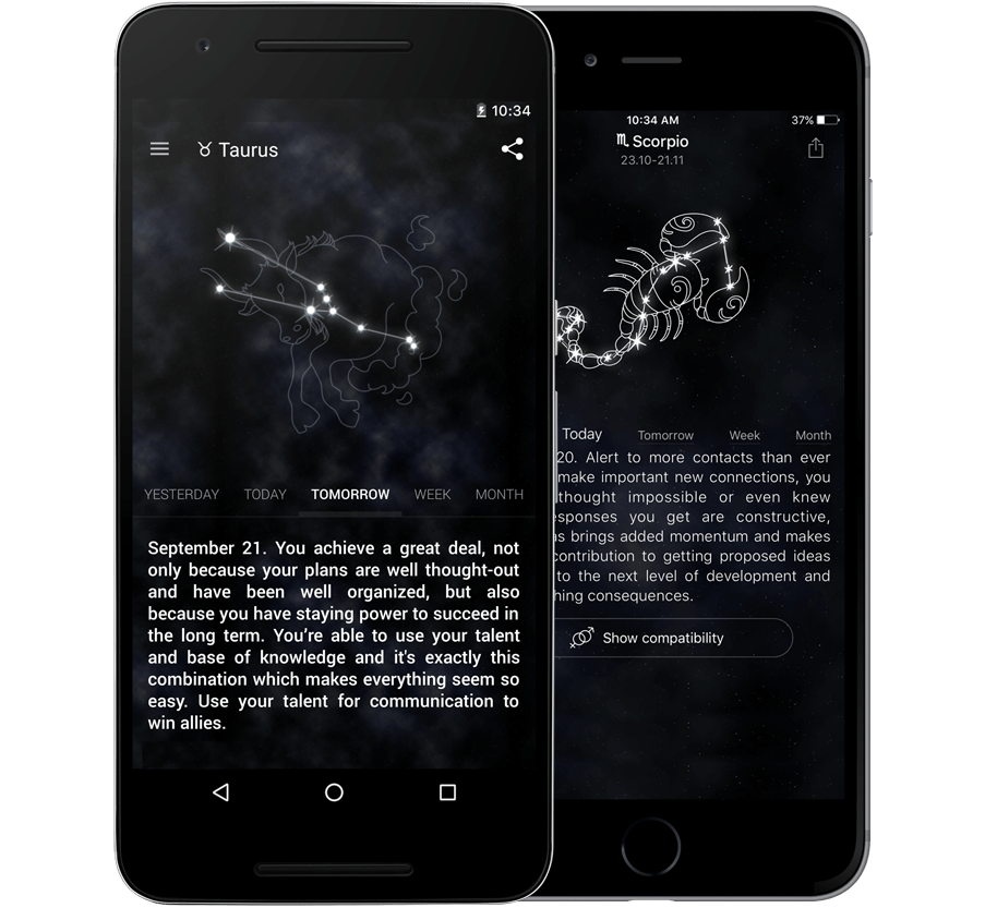 Best horoscope app on android and iphone