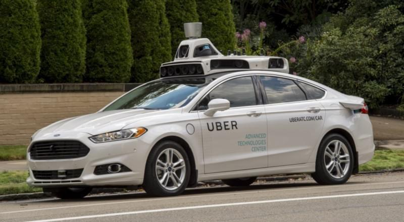 Uber Self-Driving Car — From Business Insider