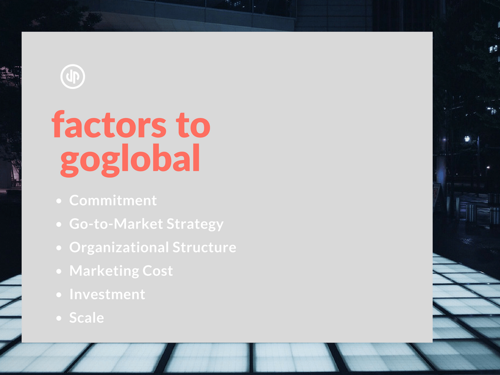 6 factors to export and GoGlobal in 2017 - checklist