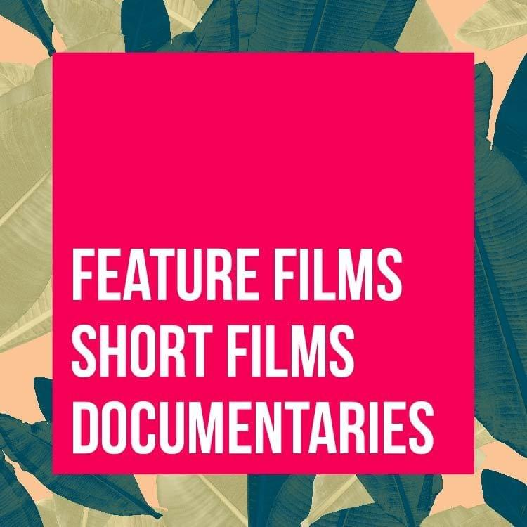 Feature Films, Short Films, and Documentaries