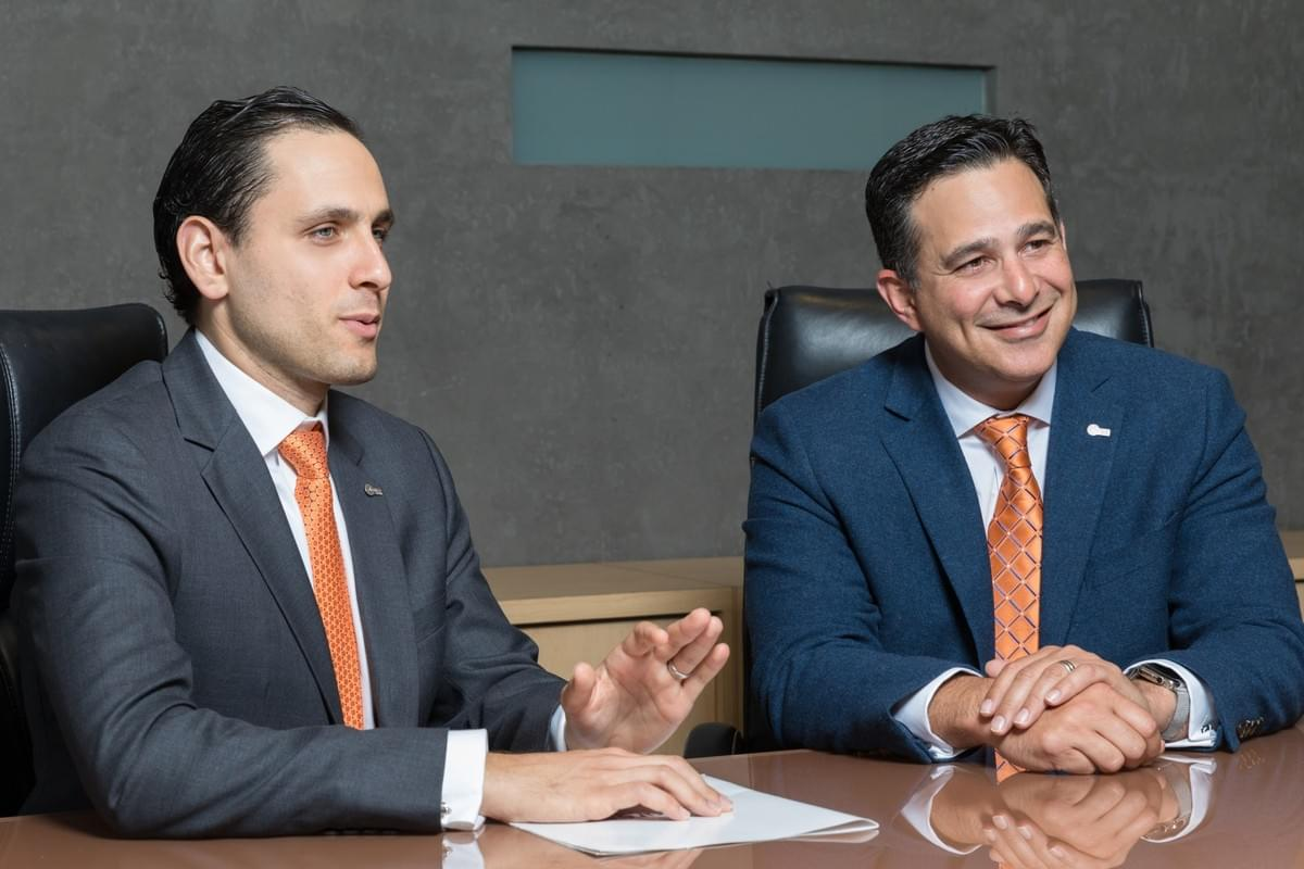 Jason Borschow, CEO, and Javier Gonzalez, COO, from Abarca