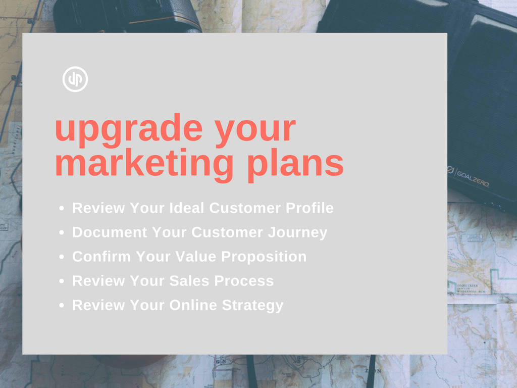 5 tips to upgrade your Marketing Plans - checklist