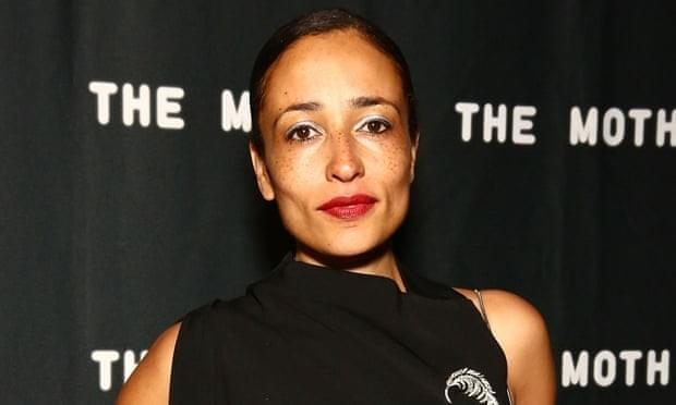 Zadie Smith. Source: The Guardian