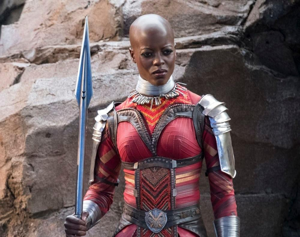 "Photo Credit: Marvel Studios (Kasumba in ""Black Panther"")"