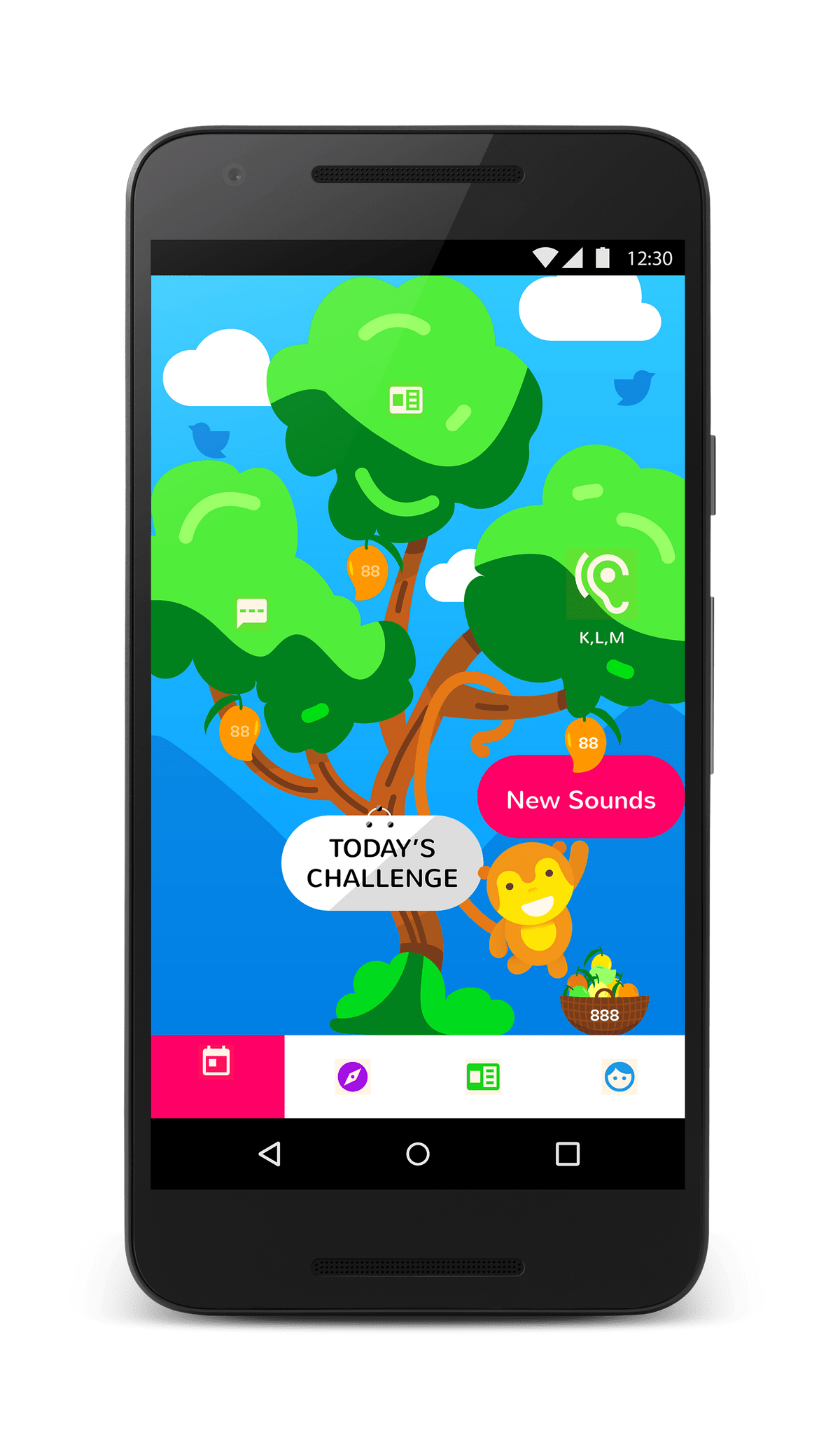 mguru English and Math App for Kids