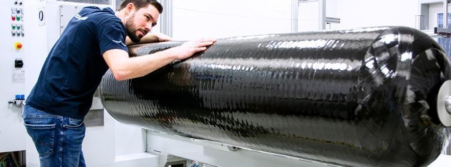 Erh2-bretagne: Un réservoir hydrogène de 320 Litres à 700 bar par Kautex Maschinenbau.