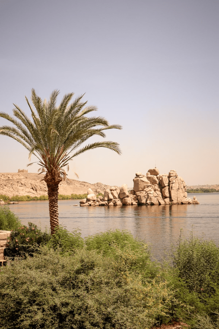 The Nile River outside of The Temple of Philae