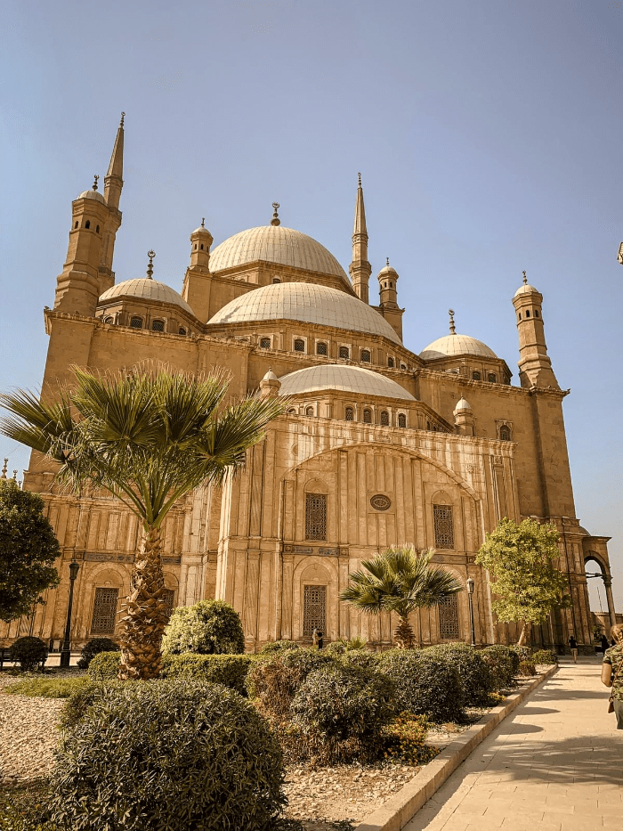 Mosque of Muhammad Ali in Cairo Egypt