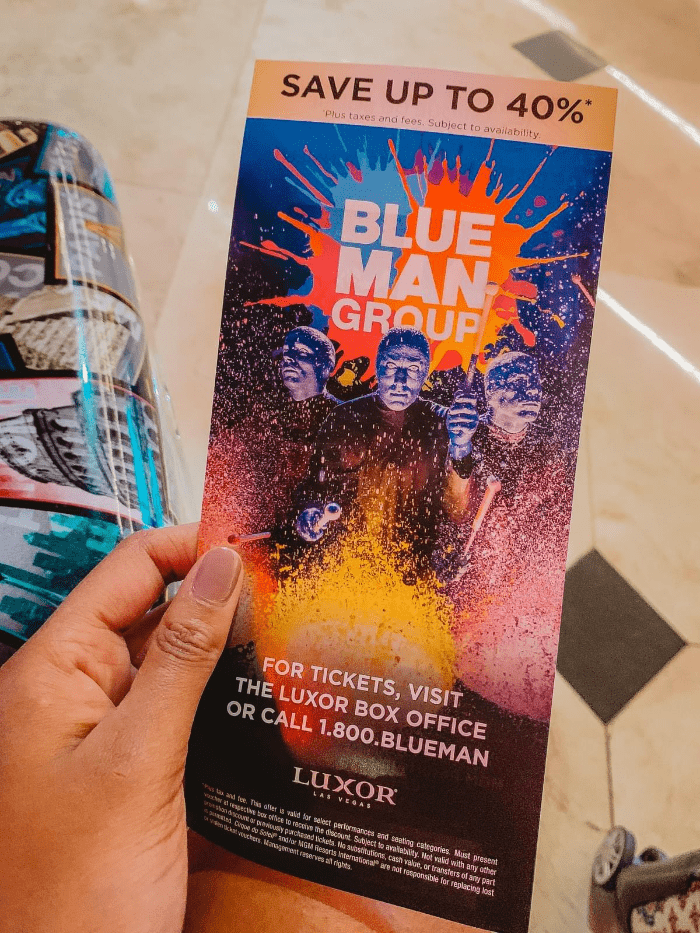 How to get discount show tickets - Blue Man Group Discount Box Office information