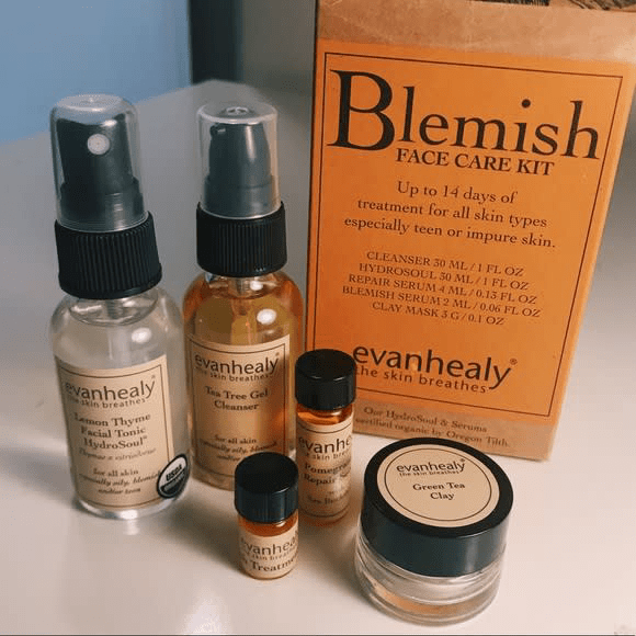 Evan Healy Skin Care, Blemish Treatment Kit