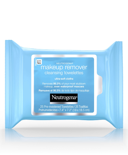 makeup remover cleansing towelettes ultra-soft cloths nuetorgena