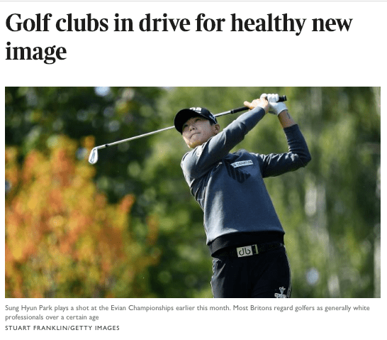 Golf Clubs In Drive For Healthy New Image