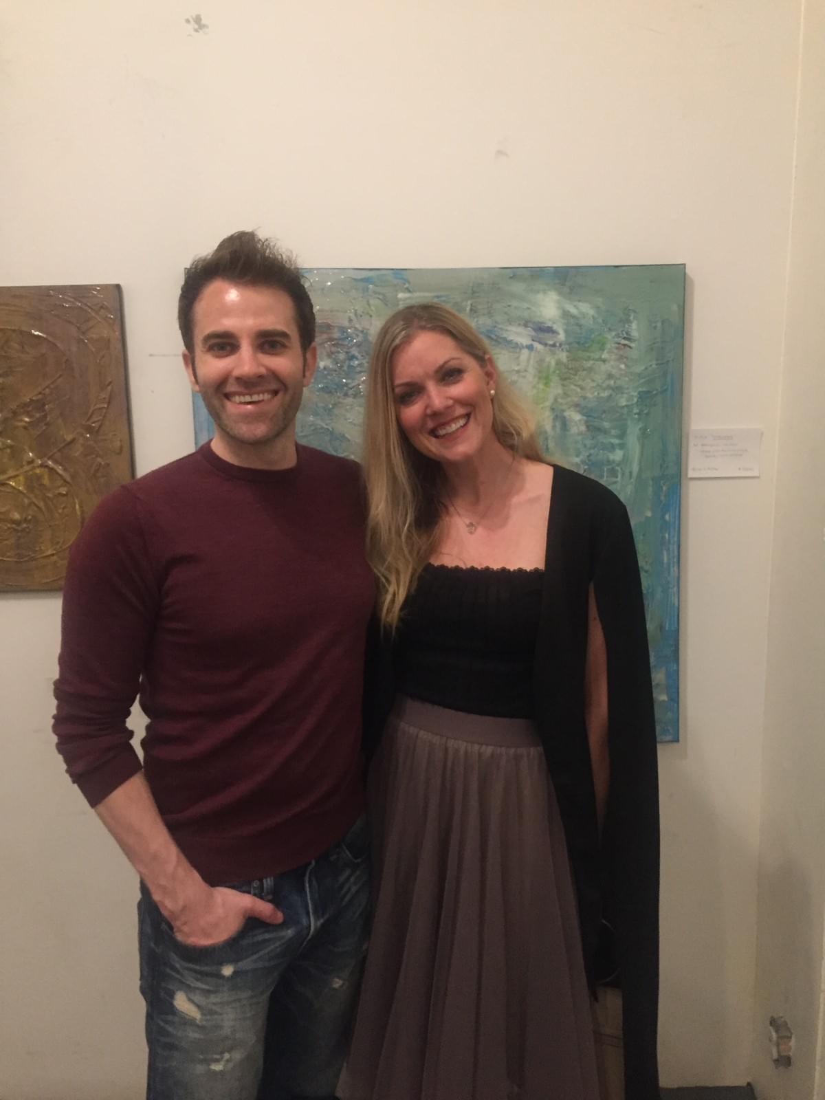 BEN WHITEHAIR, BETHANY LONDYN, ART SHOW, LOS ANGELES ART SHOW, LOS ANGELES, ARTIST