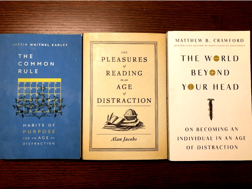 Books on distraction