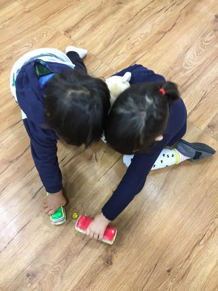 Heart Shaped play just like their sweet friendship