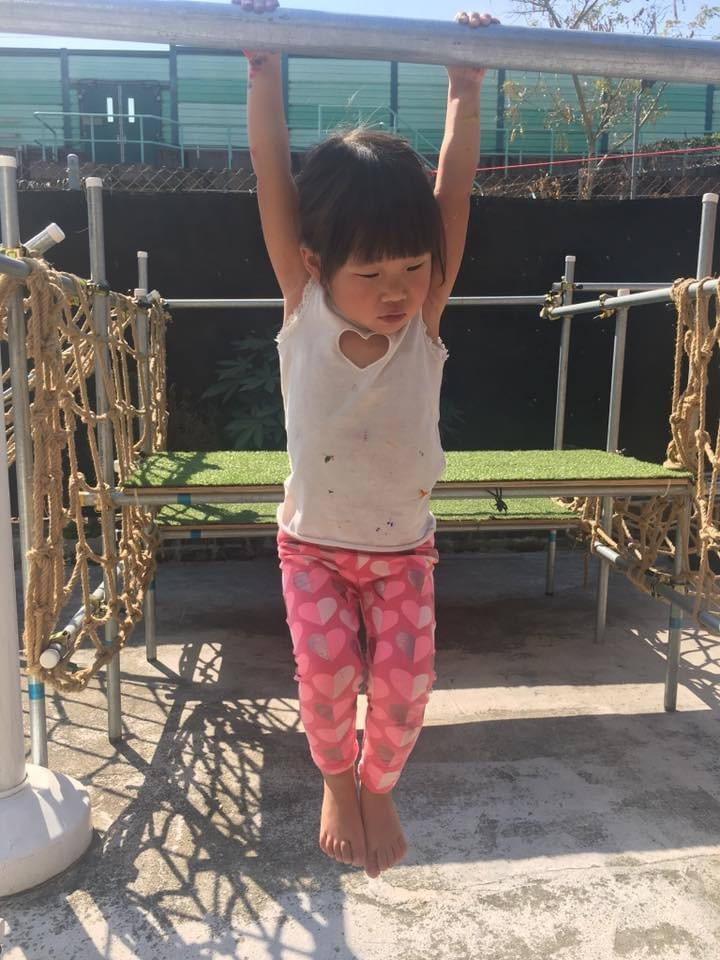 Swinging promotes strength, balance, and other crucial gross motor skills
